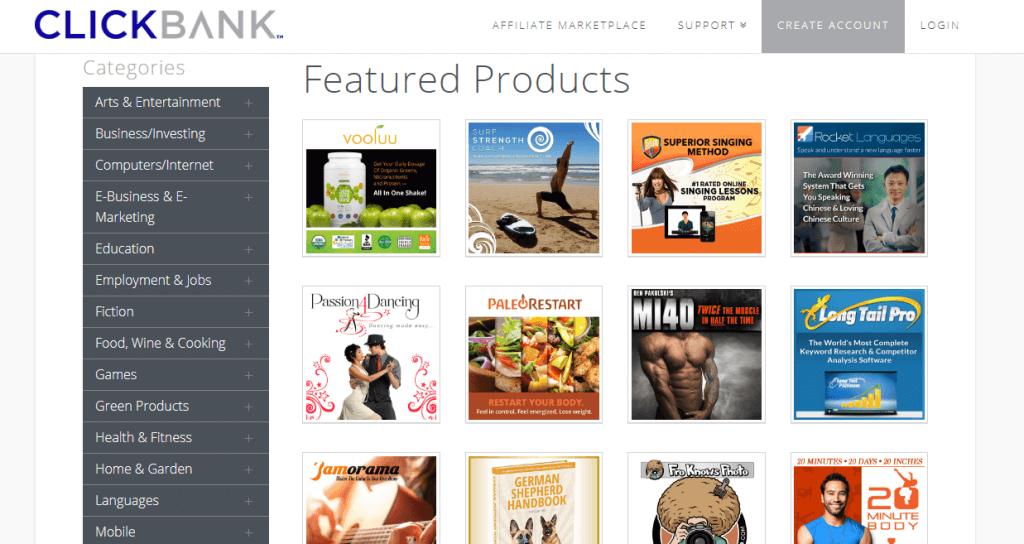 ClickBank plataforma de afiliados